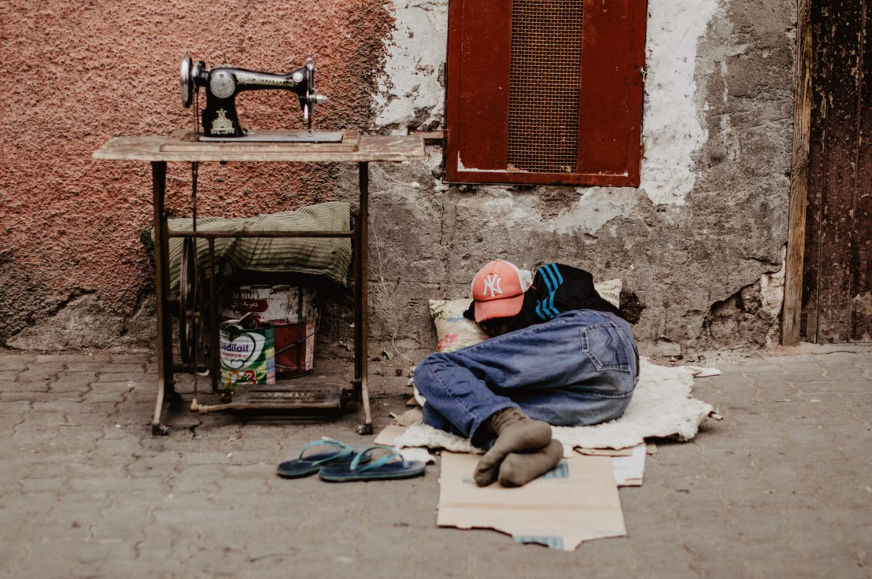 Daisy Ranoe fotografie - Marrakesh, Marokko mensen