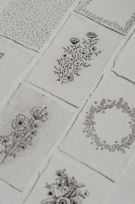 Daisy Ranoe - kaarten - illustratie - bloemen