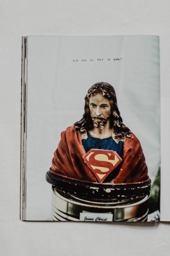 Daisy Ranoe - BEELDENSTORM magazine - over de kunst van geloven - vormgeving & productie, in samenwerking met Katie Vlaardingerbroek, uitgegeven door uitgeverij Plateau - fotografie